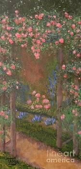 Garden Arbor  by Tanja Beaver by Tanja Beaver