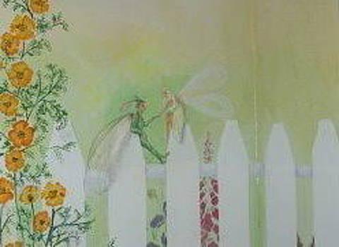 Garden Fairies  by Brent Vall Peterson
