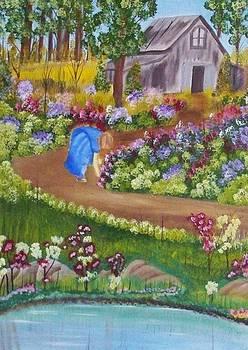 Garden Flowers by John Minarcik