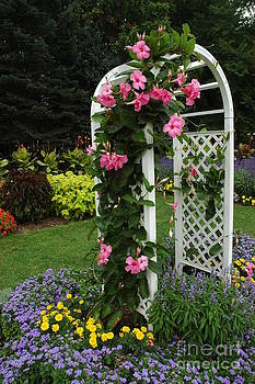 Garden Gate by Christiane Hellner-OBrien