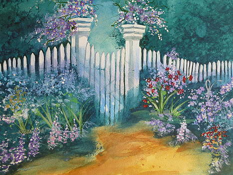 Garden gate by Reta Haube