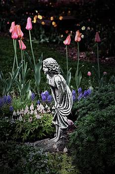 Garden girl color by Cheryl Cencich
