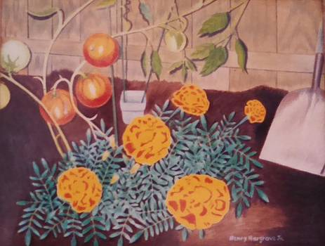 Garden of Art by Henry Hargrove