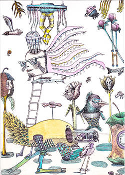 Garden of imagination by Kyra Munk Matustik
