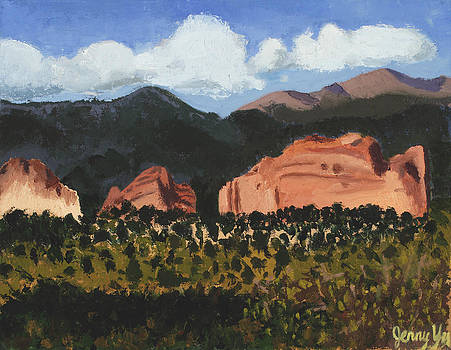 Garden of the gods by Jenny Yu