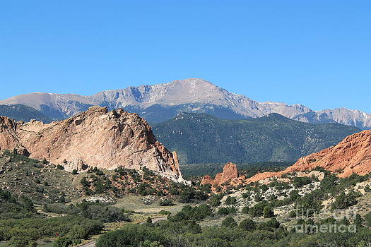 Garden Of The Gods by Teresa Thomas