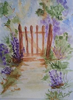 Garden Path by Lynette Clayton