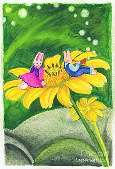 Garden Rabbit17 Heliopsis by Vin Kitayama
