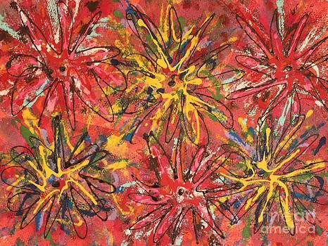Garden Red by Laura Weinberg