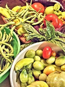 Garden Veggies by Annette Allman