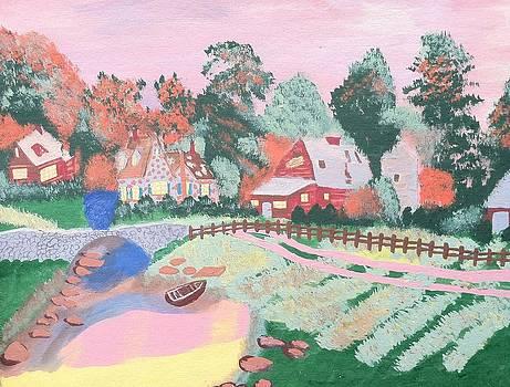 Garden View by Tony Clark