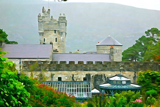 Charlie and Norma Brock - Garden View of Glenveagh Castle