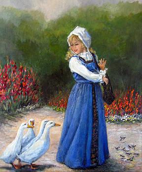 Garden Visitors by Donna Tucker
