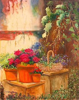 Garden Window by Jeanene Stein