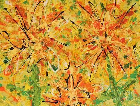 Garden Yellow by Laura Weinberg