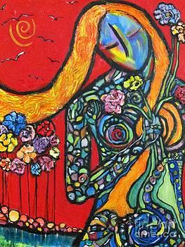 Gardener by Chaline Ouellet