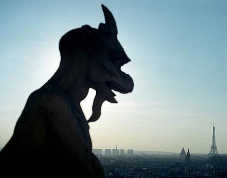 Jared Bendis - Gargoyle at Notre Dame