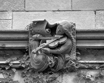 Gargoyle Musician No.1 2009 by Joseph Duba