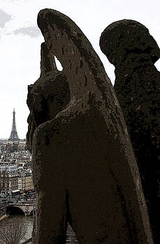 Gargoyle of Notre Dame by Linda Russell