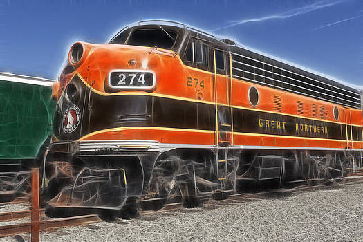 Wes and Dotty Weber - Garibaldi Locomotive 1