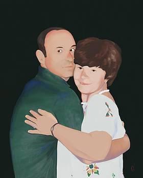 Gary and Linda by Phil Vance