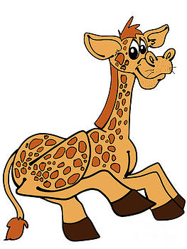 Rachel Barrett - Gary the Giraffe