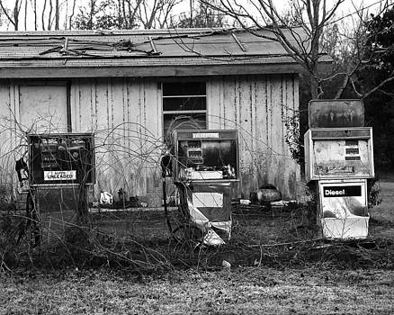 Gas Station by Jerry Cook