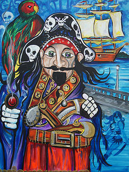 Gasparilla Invasion by Lorinda Fore and Tony Lima