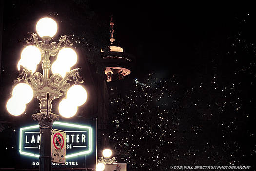 Gastown Nightlights by DGS Full Spectrum Photography
