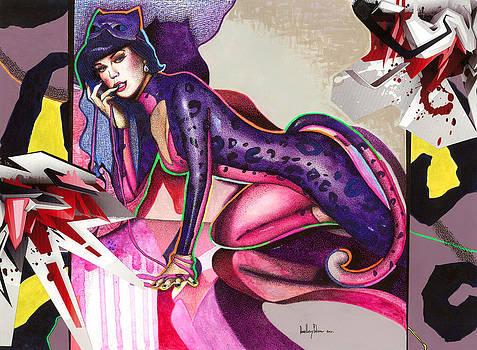 Gata Katy Perry by Daniel Levy policar
