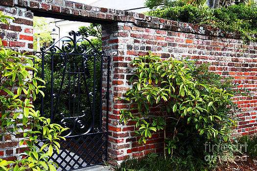 Jeff Holbrook - Gated Brick Entrance