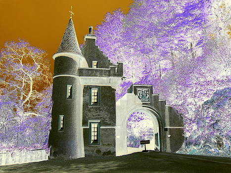 Gatehouse to Ballindalloch Castle by The Creative Minds Art and Photography