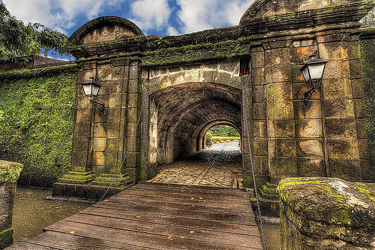 Gates of Intramuros by Mario Legaspi