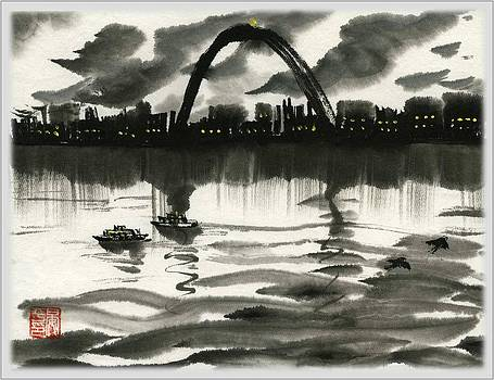 Gateway Arch by Ping Yan