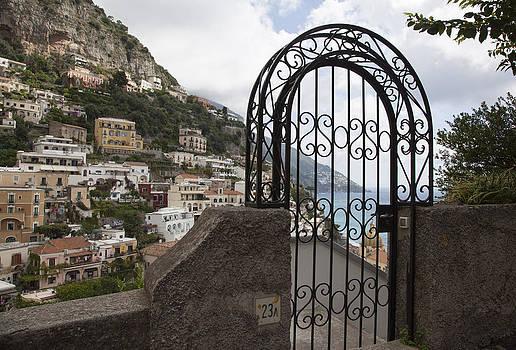 Gateway to Positano by Denise Rafkind