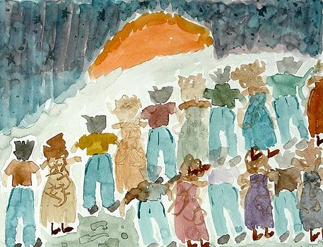 Lesley Fletcher - Gathering at Sunrise