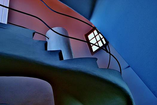 Gaudi Staircase by Sharon Costa