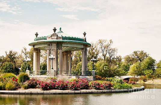Gazebo at Forest Park St Louis MO by Pam  Holdsworth