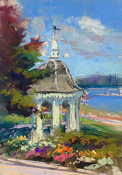 Gazebo Flowers by Greg Barnes
