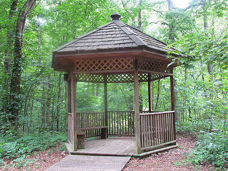 Gazebo by Pamela Morrow