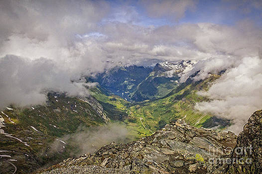 Geiranger Norway by Barbara Youngleson