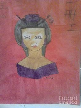 Geisha by Amelia Rodriguez