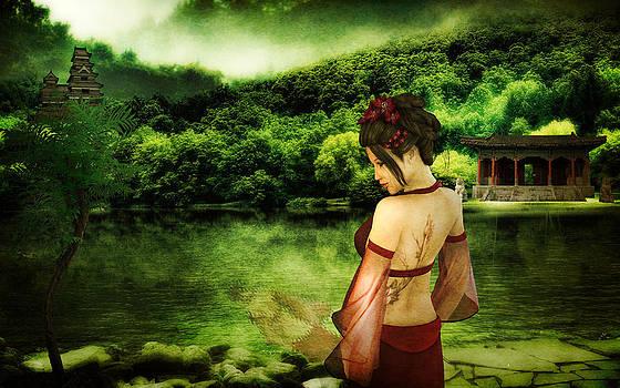 Geisha I by Amanda Struz