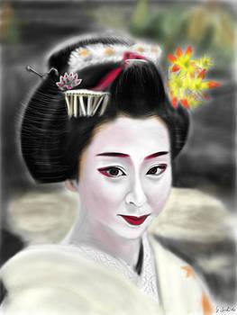 Geisha No.100 by Yoshiyuki Uchida