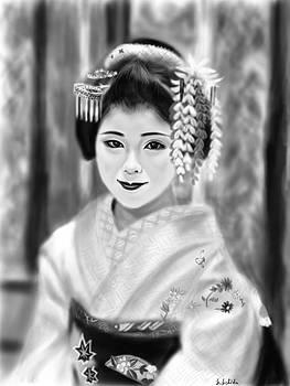 Geisha No.102 by Yoshiyuki Uchida