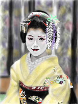 Geisha No.103 by Yoshiyuki Uchida
