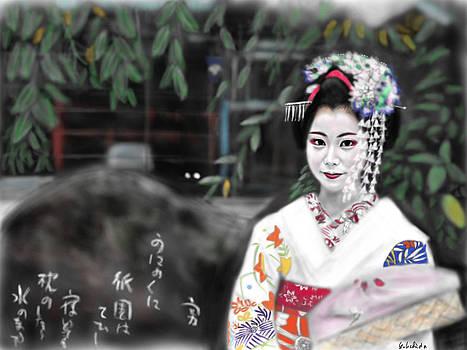 Geisha No.105 by Yoshiyuki Uchida