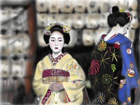 Geisha No.111 by Yoshiyuki Uchida