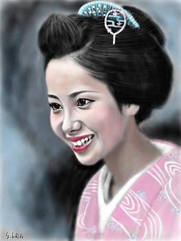 Geisha No.123 by Yoshiyuki Uchida