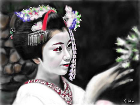 Geisha No.125 by Yoshiyuki Uchida